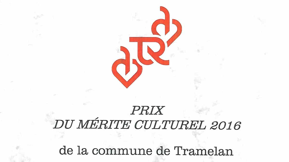 Prix du mérite culturel 2016